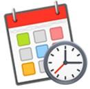 我的工作时间表苹果电脑板