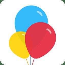 彩色气球图片相册