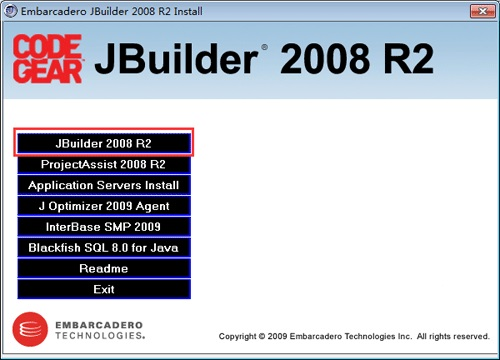 JBuilder 2008 R2企业版  0