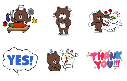 首页 联络聊天 qq表情包  → line布朗熊qq表情包   1,首先大家需要在