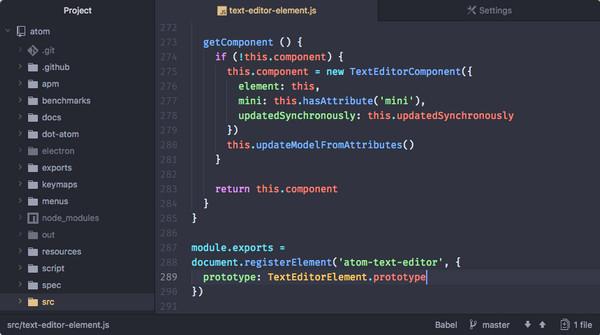 Atom代码编辑器 v1.46.0 最新版 0
