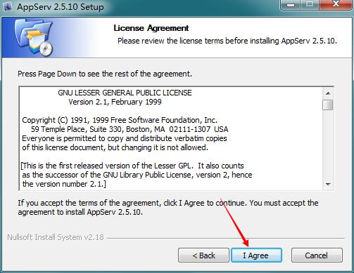 AppServ(PHP建站工具包集) V2.5.9 绿色版 1