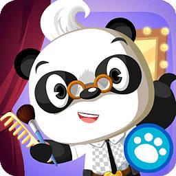 熊猫博士美容沙龙化妆游戏