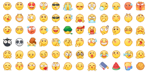 emoji表情下载|最新emoji大全表情图动态表情包小鸟动物下载1v2018免费版_图片