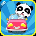宝宝巴士熊猫卡丁车