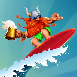 维京冲浪手机版(vikings vs waves)