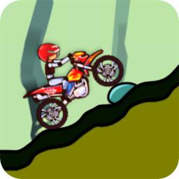 摩托登山赛车游戏