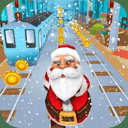 圣诞跑酷游戏