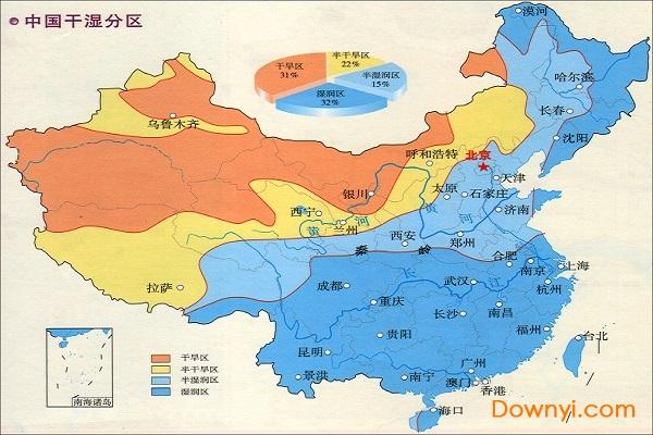 中国干湿地区空白图_中国干湿分区图高清版下载 中国干湿地区分布图下载中文免费版 ...
