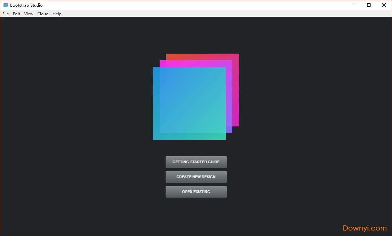bootstrap studio汉化版