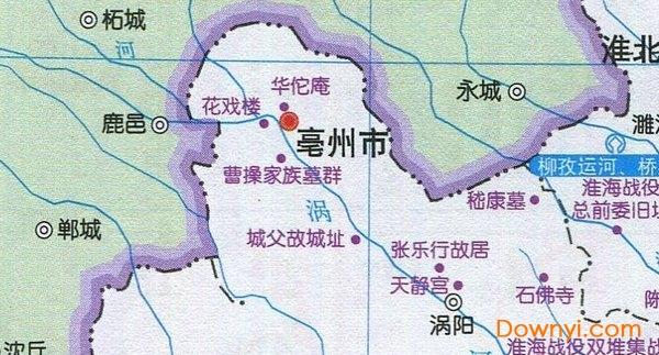 安徽省旅游地图高清版大图下载|安徽省旅游地图全图版