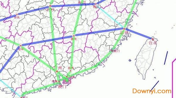 十三五高铁规划图下载 中国十大高速铁路规划图下载 当易网