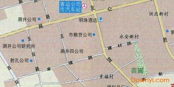 克拉玛依地图全图