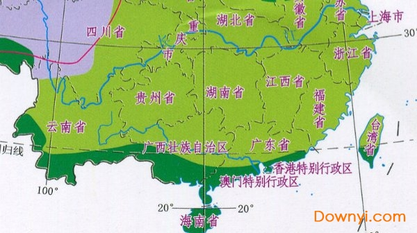 三国详细地图全图高清版_中国自然植被分布图下载|中国植被类型分布图下载_ 当易网