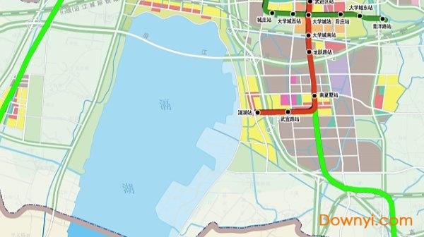 到2030年,常州市轨道交通线网规划不仅包含中心城区轨道交通,还将有市郊线.