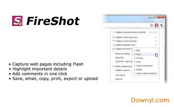 fireshot for chrome v0.98.93 免费版 0