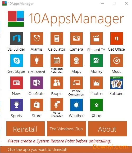 win10预装软件卸载工具