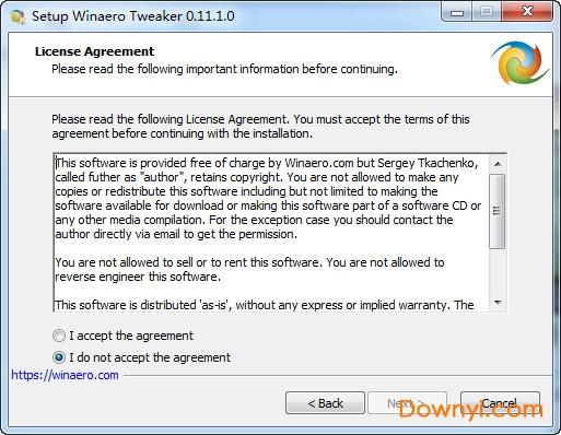 winaero tweaker中文版 v0.11.1.0 免费版 2