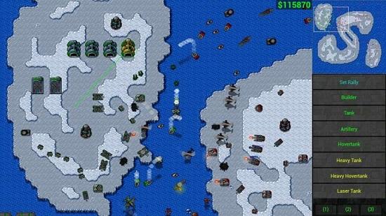 铁锈战争无限金币版(红警RTS)