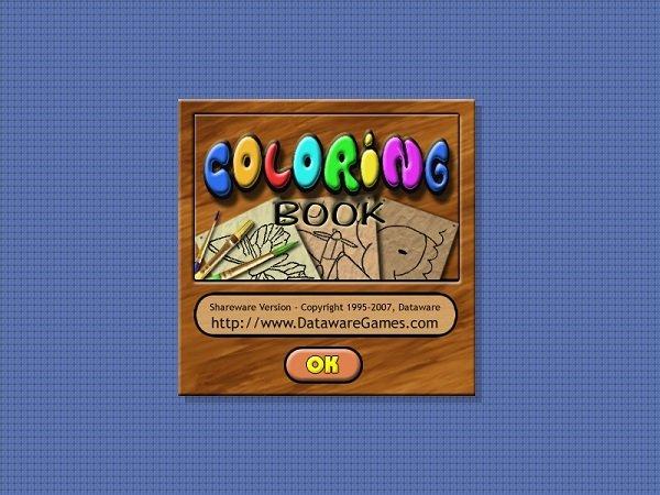 coloring book填色软件