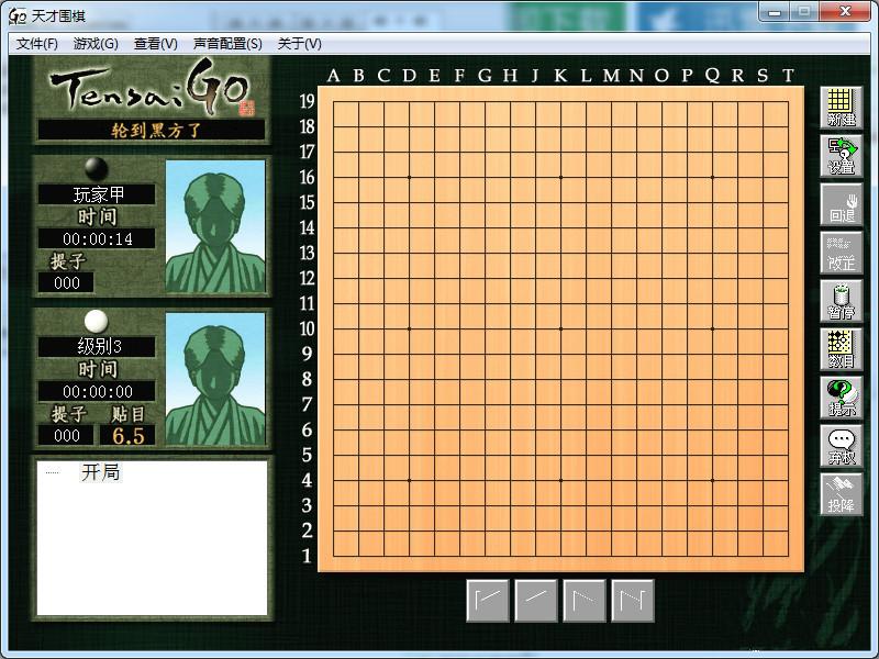 天才围棋绿色版