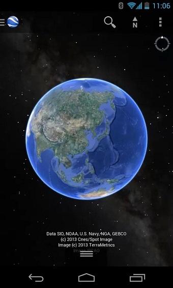 谷歌地球手机破解版 v9.0 安卓中文版 1
