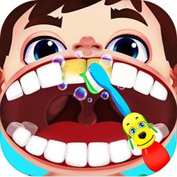 宝宝学做医生游戏