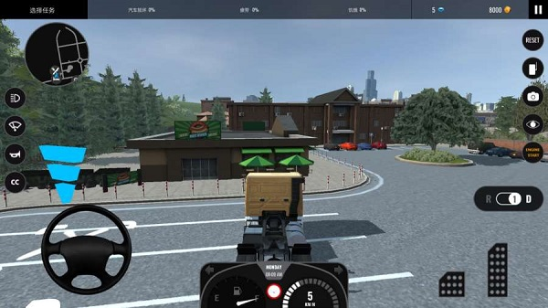 欧洲卡车模拟2中文手机游戏 v1.1 安卓版 0