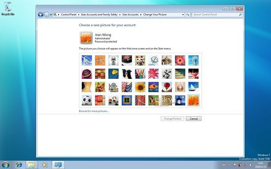 Windows7用户头像图片大全