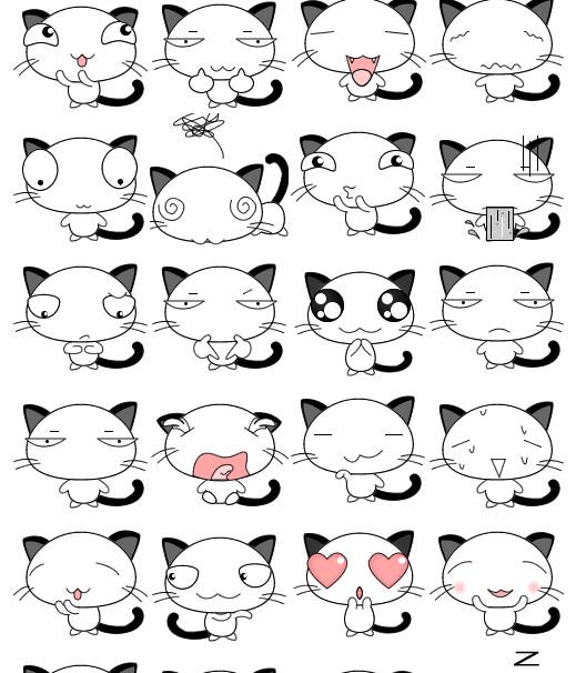 a表情猫表情表情版小炸jackson动态绿色包图片