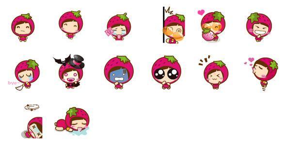 首页 联络聊天 qq表情包  → 草莓妹妹qq表情包   草莓妹妹表情包介绍