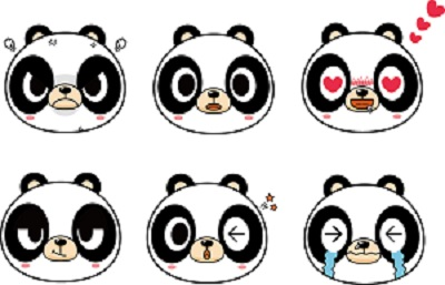 小熊猫表情游戏和女朋友表情包图片