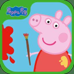 小猪佩奇涂色软件