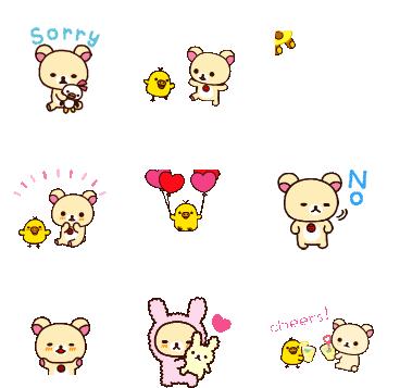 可爱小熊qq表情包