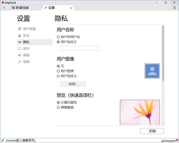 anydesk中文破解版 v3.6.2 绿色版 0