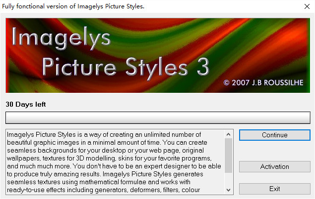imagelys picture styles图片处理软件