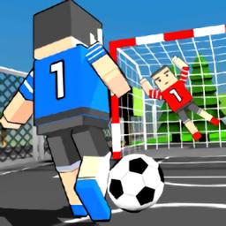 方块街头足球游戏