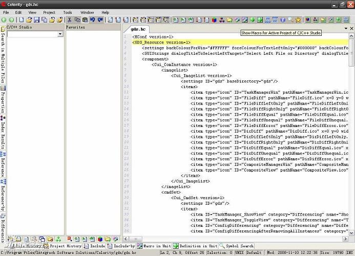 迅捷(celerity) c/c++源代码分析器(源代码分析软件) v8.2 免费版 0