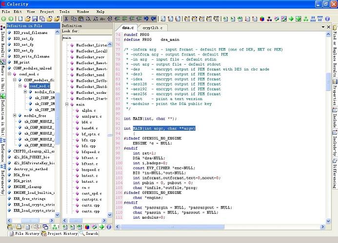 迅捷(celerity) c/c++源代码分析器(源代码分析软件) v8.2 免费版 1