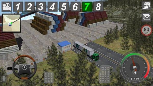 gbd奔驰卡车模拟器破解版 v4.50 安卓免费版 0