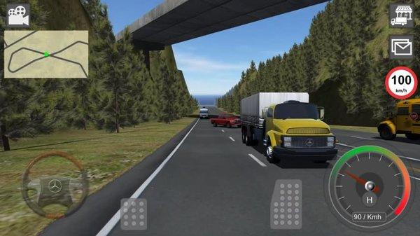 gbd奔驰卡车模拟器破解版 v4.50 安卓免费版 1