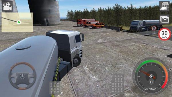gbd奔驰卡车模拟器破解版 v4.50 安卓免费版 2