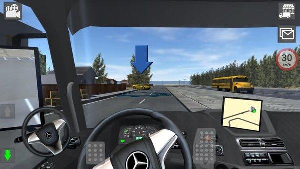 奔驰卡车模拟器无限金币版