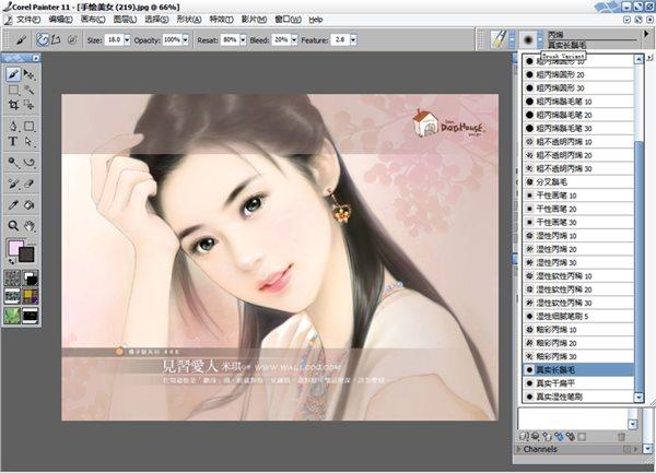 corel painter 11中文破解版 电脑版 0