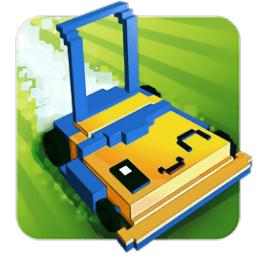 卡通农场收割机游戏