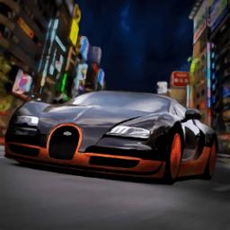 东京的街头赛车游戏