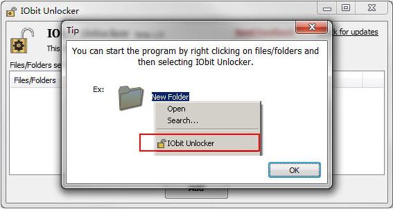 iobit unlocker64位 V1.1 绿色版 3
