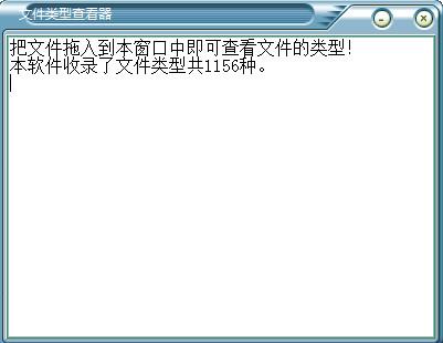 文件类型分析器
