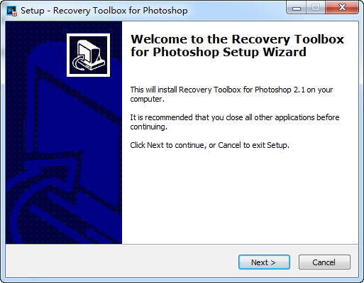 psd文件修复软件(recovery toolbox for photoshop) v2.1.0.0 绿色版 1