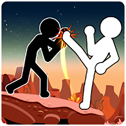 火柴人格斗暗影战士手游(stickman fight)